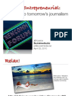 Paths to New Journalism