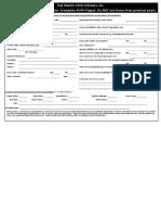 2016 volunteer application pwls inc