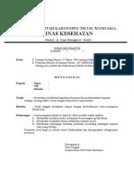 Surat Penugasan Klinik