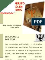 Rol Del Perito Psicologo en El Ministerio Publico