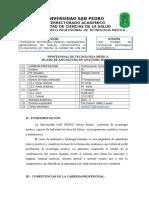 Silabo de Anatomia - Universidad San Pedro