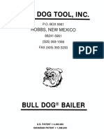 Bull Dog Bailer sand oil