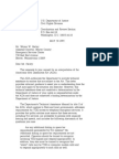 US Department of Justice Civil Rights Division - Letter - tal078