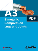 Bimetallic Compression Lugs and Joints
