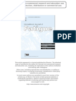 Probabilistic Assessment of Fatigue Crack Growth in Concrete