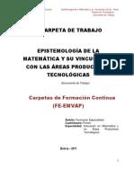 Carpeta de Epistemología Matemáticas y su vinculación con áreas Productivas Tecnológicas.pdf