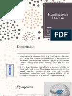 Huntington's Disease - Biopsych