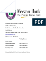 Products and Documentation of Meezan Bank ltd