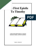 1timothy Bible Study