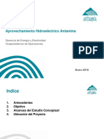 Aprovechamiento Hidroelectrico Antamina (Regulatorio)