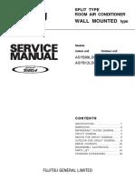 Hướng Dẫn Lắp Đặt Máy Treo Tường Cục Bộ Fujitsu