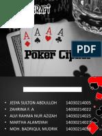 Poker Cipher