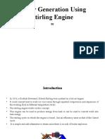 Stirling Engine Presentation, sample presentation