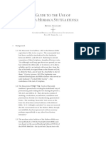 Guide to the Use of Biblia Hebraica Stuttgartensia - PAUL W. FERRIS