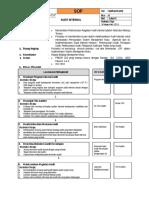LM6.Lat 9 SOP. Audit Internal