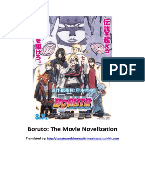 Boruto Novelization FINAL | Ninja | Armed Conflict