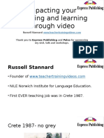 Impacting Your Teaching and Learning Through Video