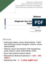 Referat - Edi - TX Hiponatremia