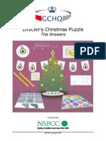 GCHQ Puzzle 2015 - Solutions