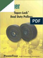 Taper Lock Dual Pulley 1