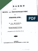 Bijdragen tot de munt- en penningkunde van Friesland. Tweede vervolg