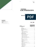 Cambio Shimano Ultegra Di2 Manual