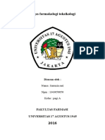 Farmakologi Toksikologi, Karunia Sari, (1343050050), Pagi A