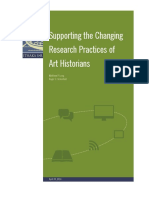 Supporting the Changing Research Practices of Art Historians