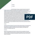 Case Digest Codoy v Calugay PFR