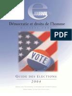 Démocratie et droits de l'homme