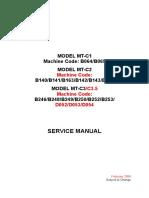 Servicio Manual
