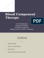 Blood Component Therapy MCC