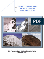 Climate Change and Tropical Andean Glacier Retreat Annex
