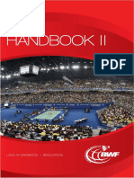 Handbook II Laws of Badminton Bwf