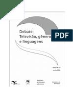Debate, Televisão, Generos