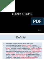 TEKNIK AUTOPSI