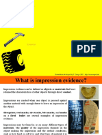 impression evidence ppt