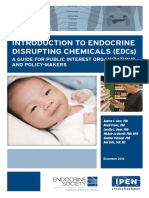 INTRODUCTION TO ENDOCRINE DISRUPTING CHEMICALS (EDCs) A GUIDE FOR PUBLIC INTEREST ORGANIZATIONS AND POLICY-MAKERS