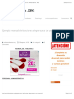 Ejemplo Manual De Funciones De Personal De Un Restaurante   Wiki Estudiantes .ORG