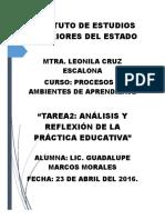Marcos Morales Guadalupe Análisis y Reflexión