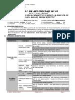 UNIDAD DE APRENDIZAJE COMUNICACION 2° GRADO I BIM 2016