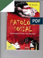 Buku Patologi Sosial