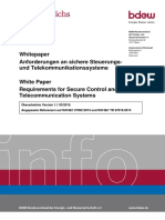 OE-BDEW-Whitepaper Secure Systems V1.1 2015