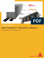 Sika Carbodur Calculation Software User Guide