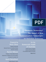 Electronic Democracy