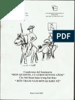 Don Quijote y la máquina mal fundada, 2005