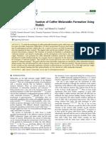 Mecanismo de Formacion de Las Melanoidinas Del Cafe Usando Frijoles Modificados