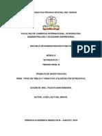 TABLA de FRECUENCIAS Agrupación de Datos Cualitativos en Clases Mutuamente Excluyentes