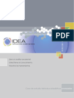 IDEA Advanced Statistical Methods Case Study
