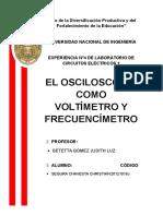 Informe Final Osciloscopio